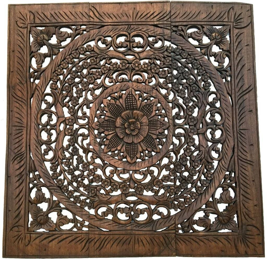 Fascinating Carved Wood Wall Art Panels Carved Wood Wall Download For Newest Wood Wall Art Panels (View 16 of 20)