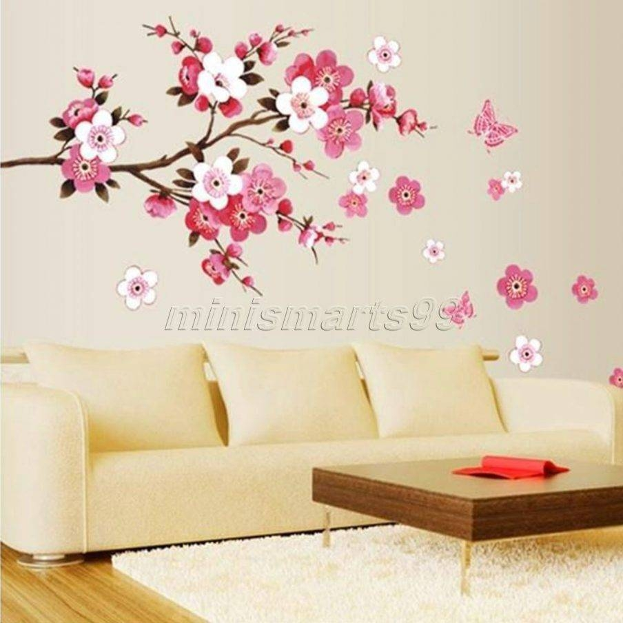 Fascinating Cherry Blossom Metal Wall Decor Cherry Blossom Tree With Regard To Most Recently Released Red Cherry Blossom Wall Art (View 11 of 30)