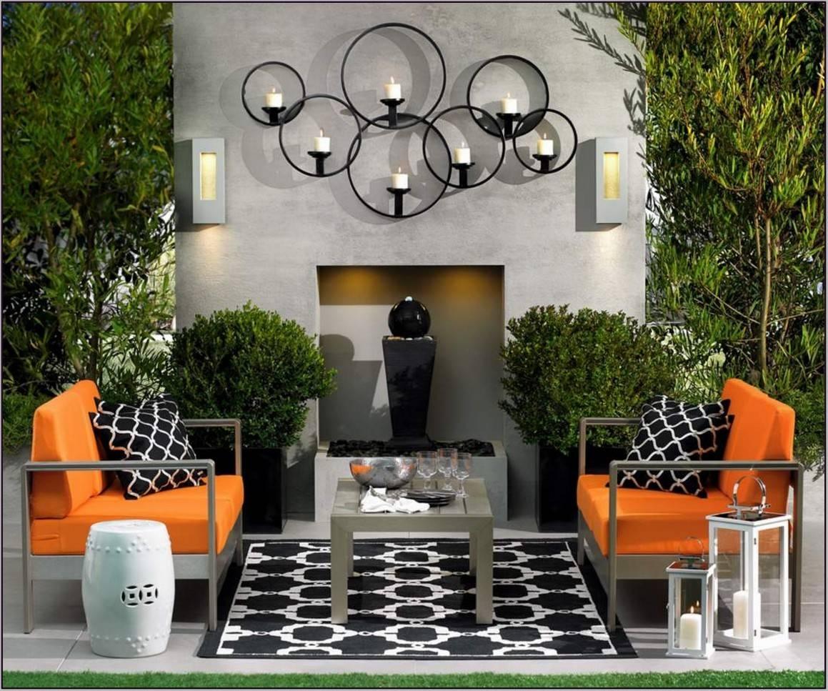 Fascinating Outdoor Garden Wall Art Ideas | 2907 | Hostelgarden Inside Most Popular Garden Wall Art (View 2 of 30)