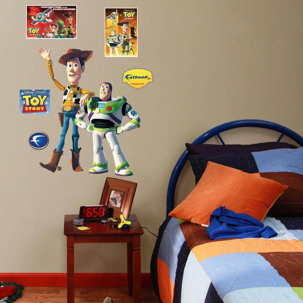 Fathead 24 In. X 31 In. Toy Story Wall Decal-Fh15-15991 - The Home with Most Current Toy Story Wall Stickers