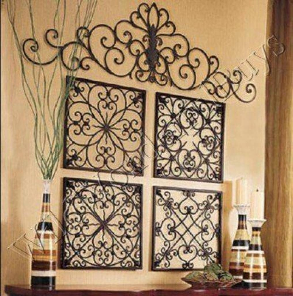 Faux Wrought Iron Wall Art For Under $5 Youtube Decorative Iron Inside 2017 Faux Wrought Iron Wall Art (View 7 of 30)