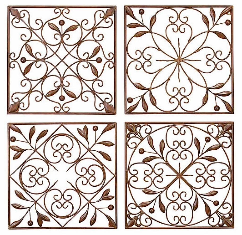 Faux Wrought Iron Wall Art For Under $5 Youtube Decorative Iron With Most Current Faux Wrought Iron Wall Art (View 16 of 30)