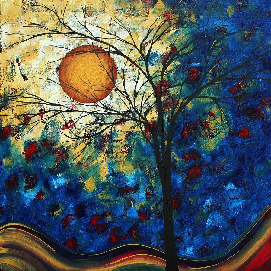 Feel The Sensationmadart Paintingmegan Duncanson With Most Current Megan Duncanson Metal Wall Art (View 7 of 25)