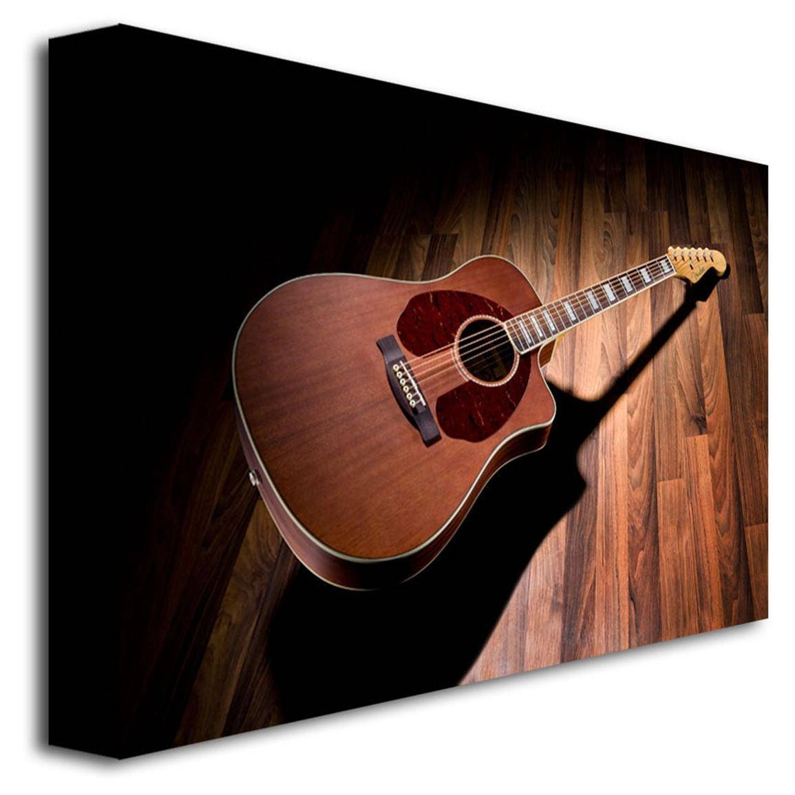 Fender® 'acoustic Guitar' Canvas Art – 300921, Wall Art At Throughout 2017 Guitar Canvas Wall Art (View 16 of 20)