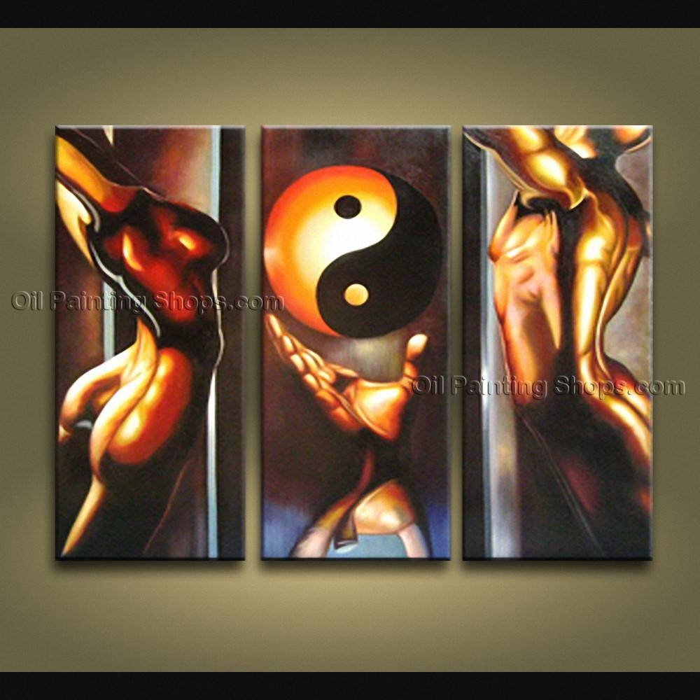 Feng Shui Zen Art Contemporary Painting Interior Home Decor For Most Recently Released Feng Shui Wall Art (View 5 of 20)