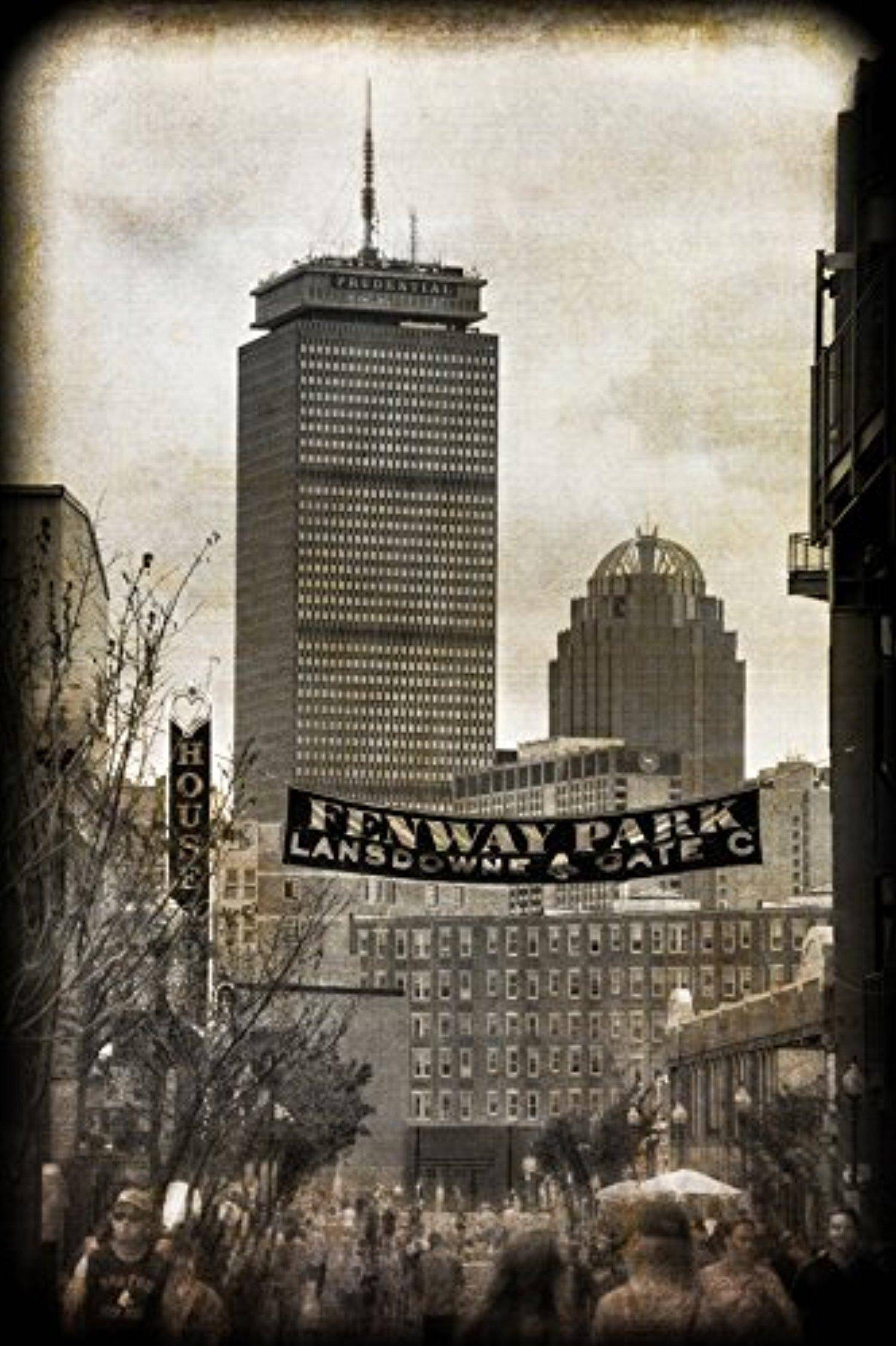 Fenway Park Vintage Print – Vintage Red Sox Wall Art – Boston With Regard To Current Red Sox Wall Art (View 16 of 23)