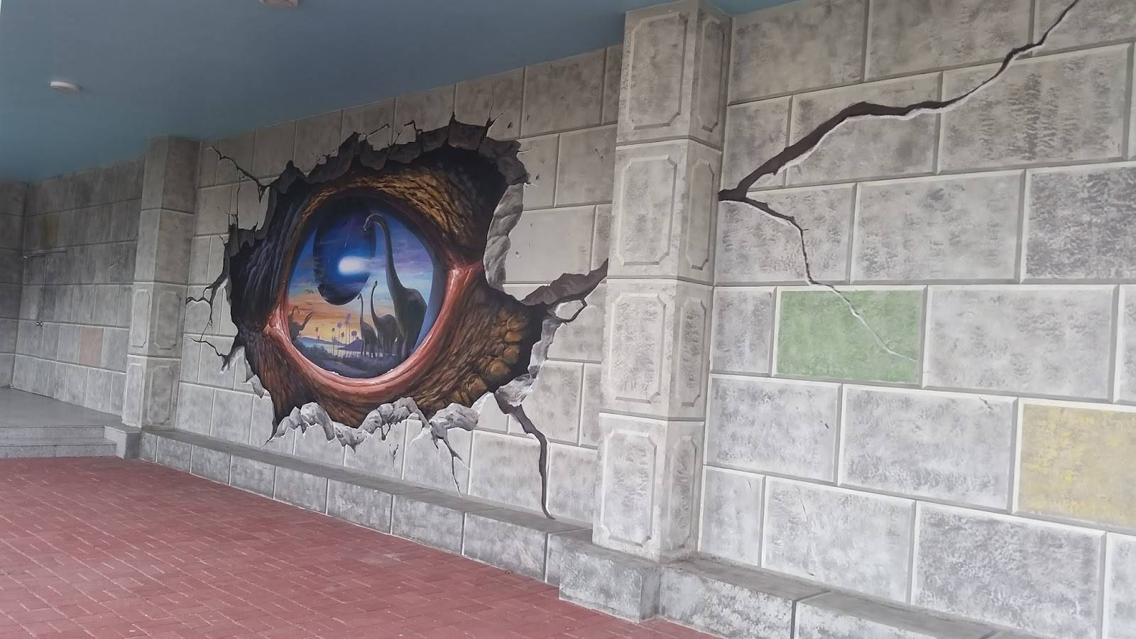 Finding Bonggamom: Art That's Educational And Fun: Art In Island In Most Current 3D Wall Art Illusions (View 12 of 20)