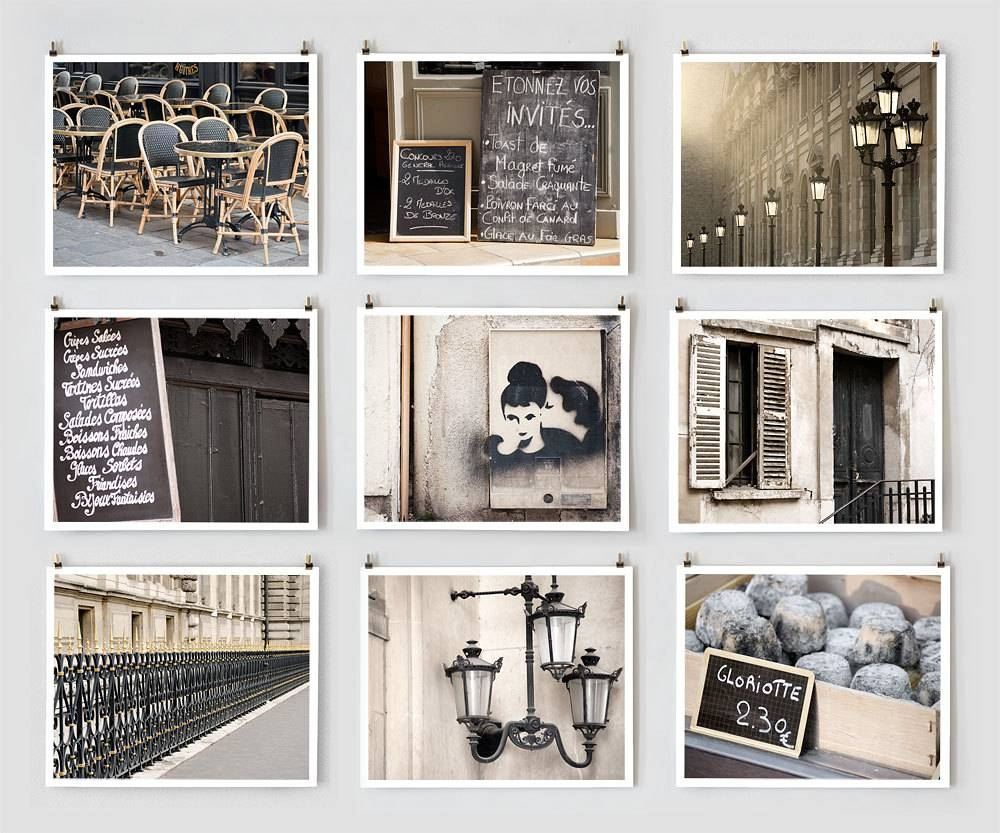 Fine Art Photography, Paris Gallery Wall Art Prints, Black Paris Throughout Latest Extra Large Wall Art Prints (View 7 of 20)