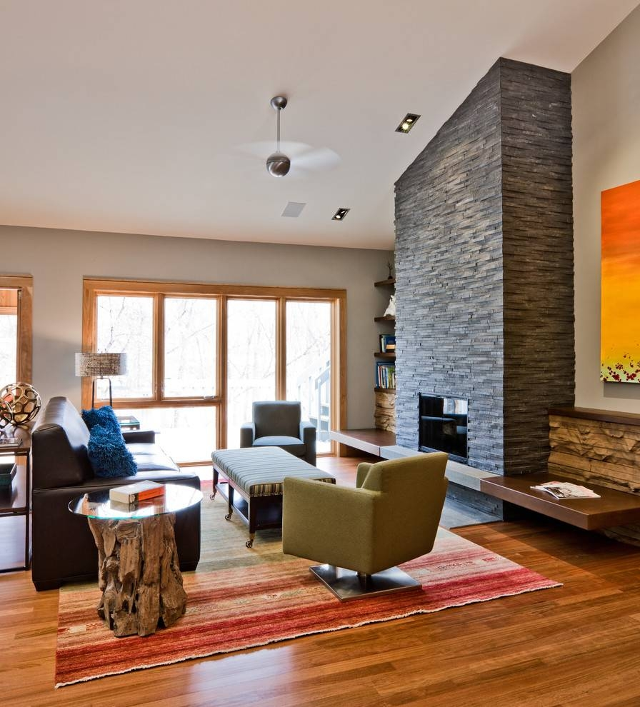 Fireplace Wall Decor Family Room Contemporary With Area Rug Art In Most Recently Released Fireplace Wall Art (View 18 of 20)