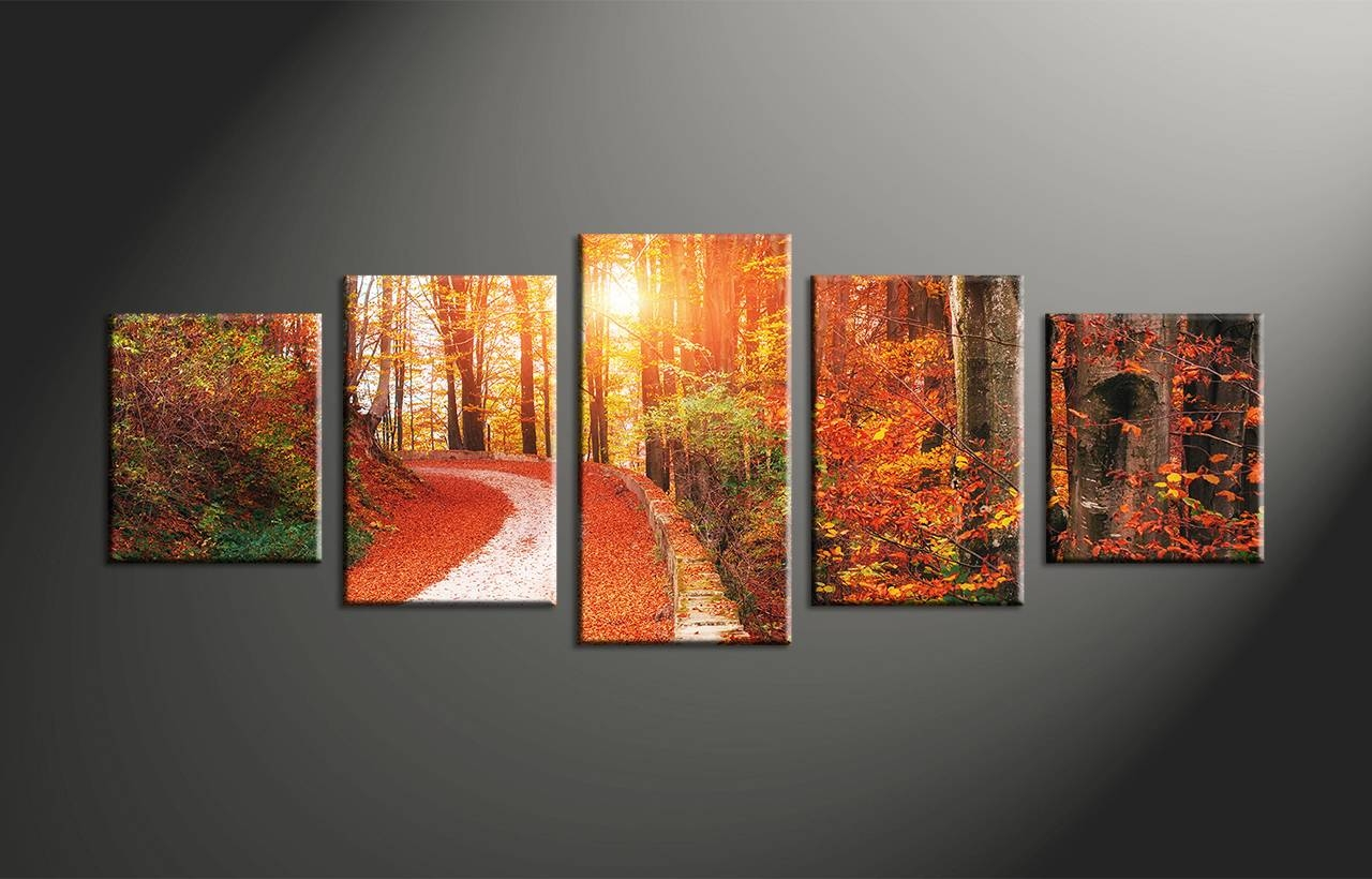 Five Piece Canvas Wall Art | Himalayantrexplorers For Most Up To Date Multi Panel Canvas Wall Art (View 4 of 20)