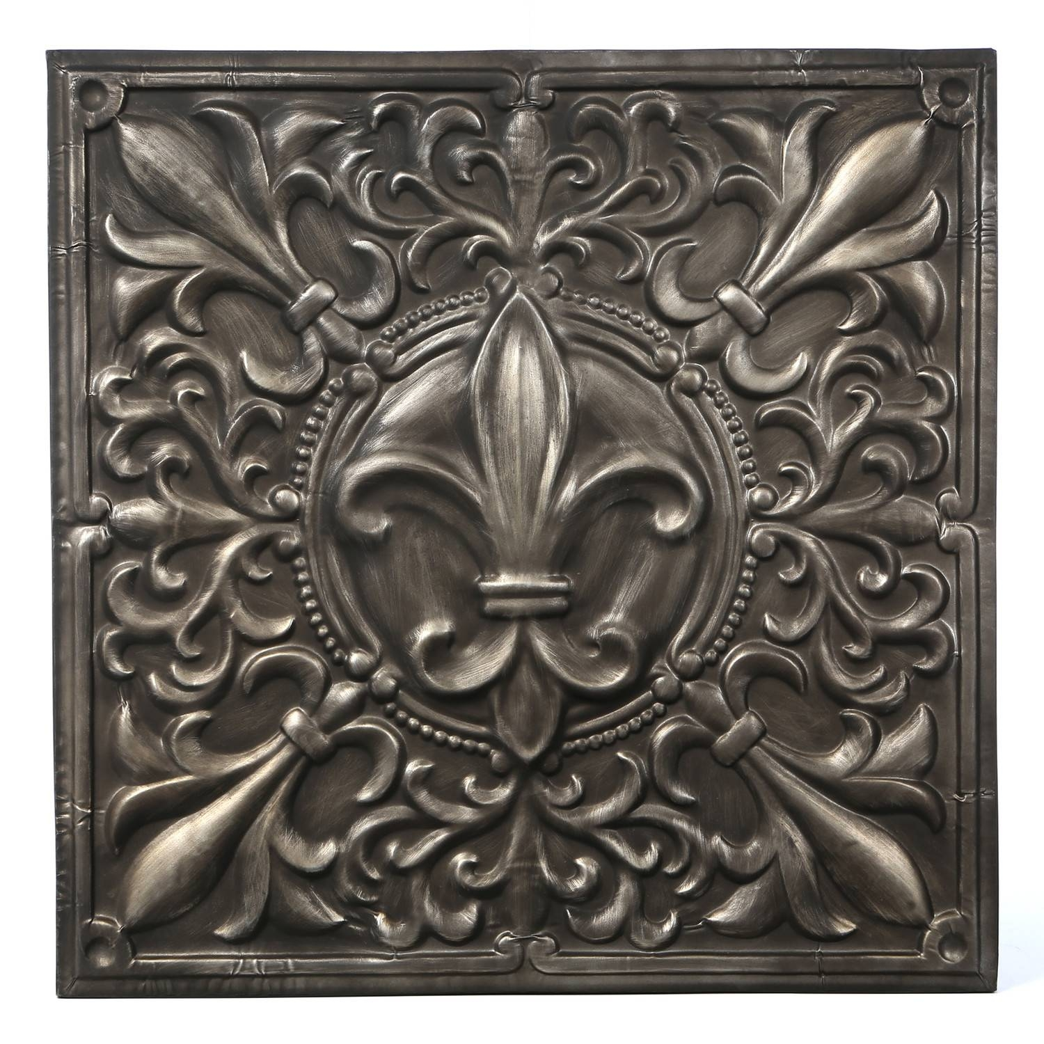 Fleur De Lis Home Decor Wall Art : Fleur De Lis Wall Decor Regarding Most Up To Date Fleur De Lis Metal Wall Art (View 6 of 25)