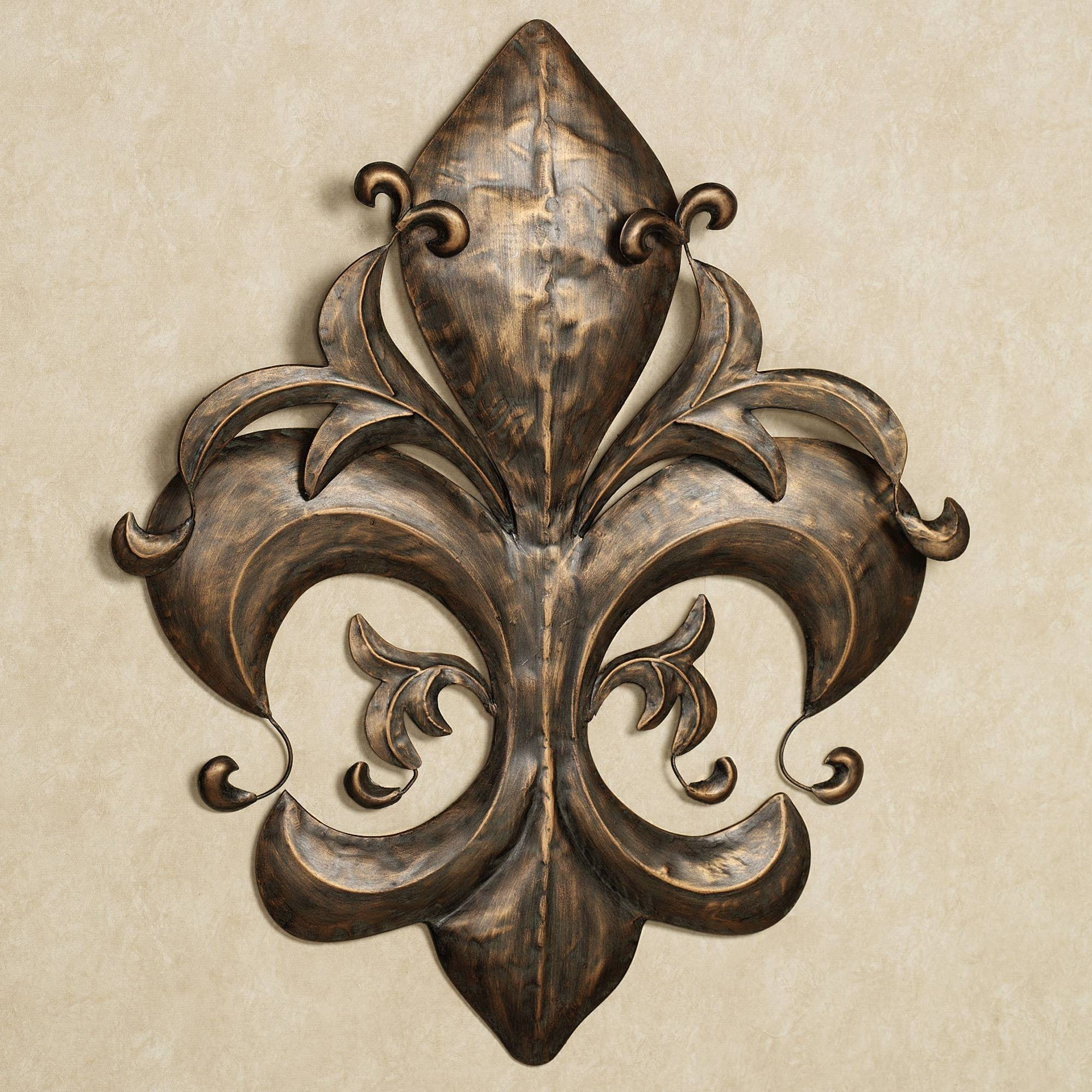 Fleur De Lis Metal Wall Decor | Design Ideas And Decor Intended For Most Up To Date Fleur De Lis Metal Wall Art (View 11 of 25)