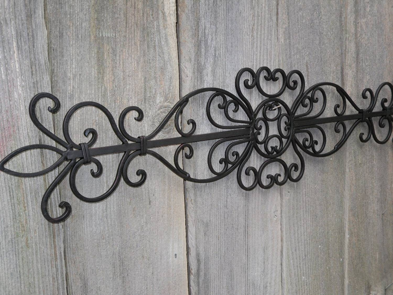 Fleur De Lis Metal Wall Decor Sweet : Fleur De Lis Metal Wall Inside Best And Newest Fleur De Lis Metal Wall Art (View 18 of 25)
