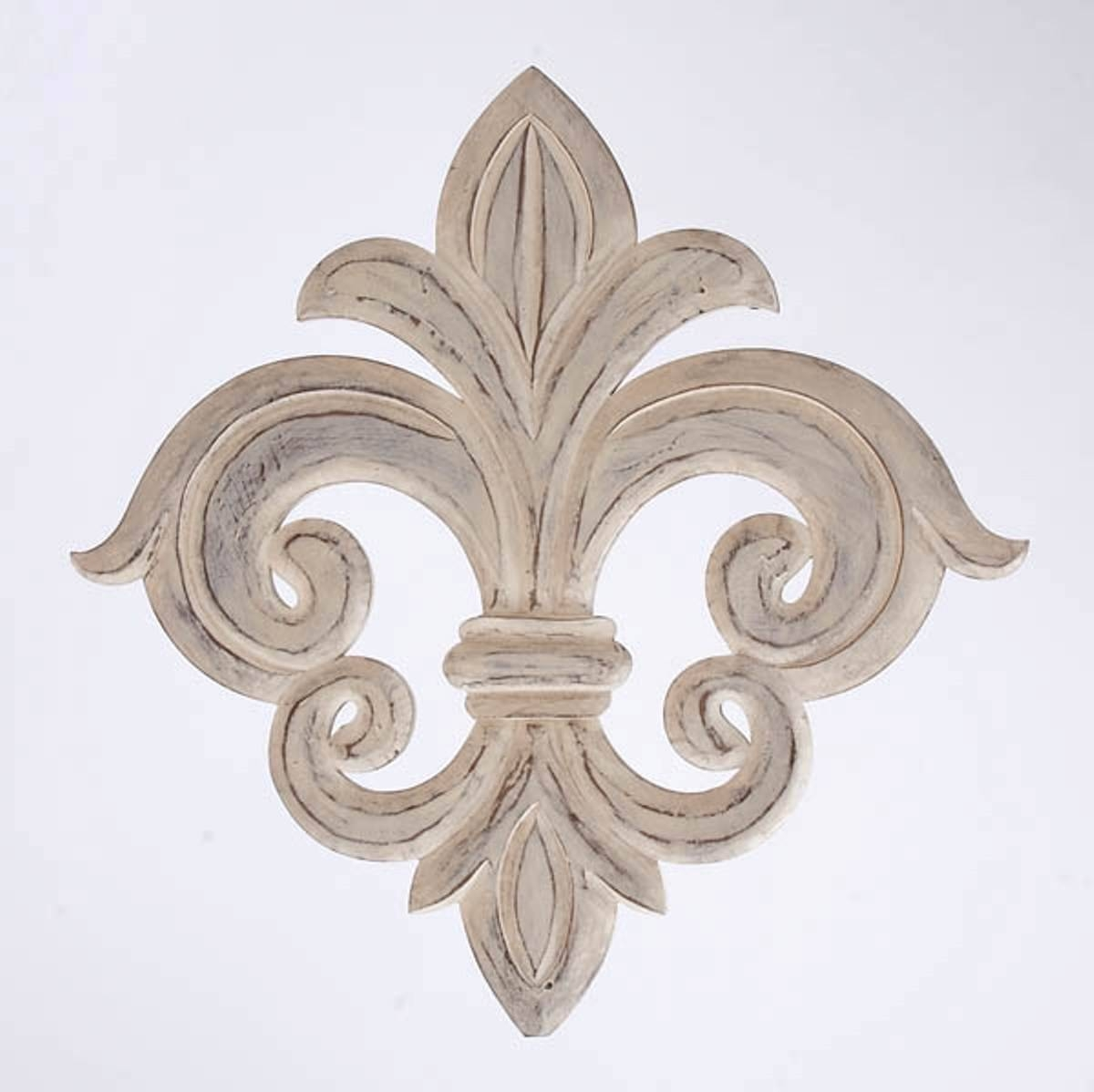 25 Ideas Of Metal Fleur De Lis Wall Art