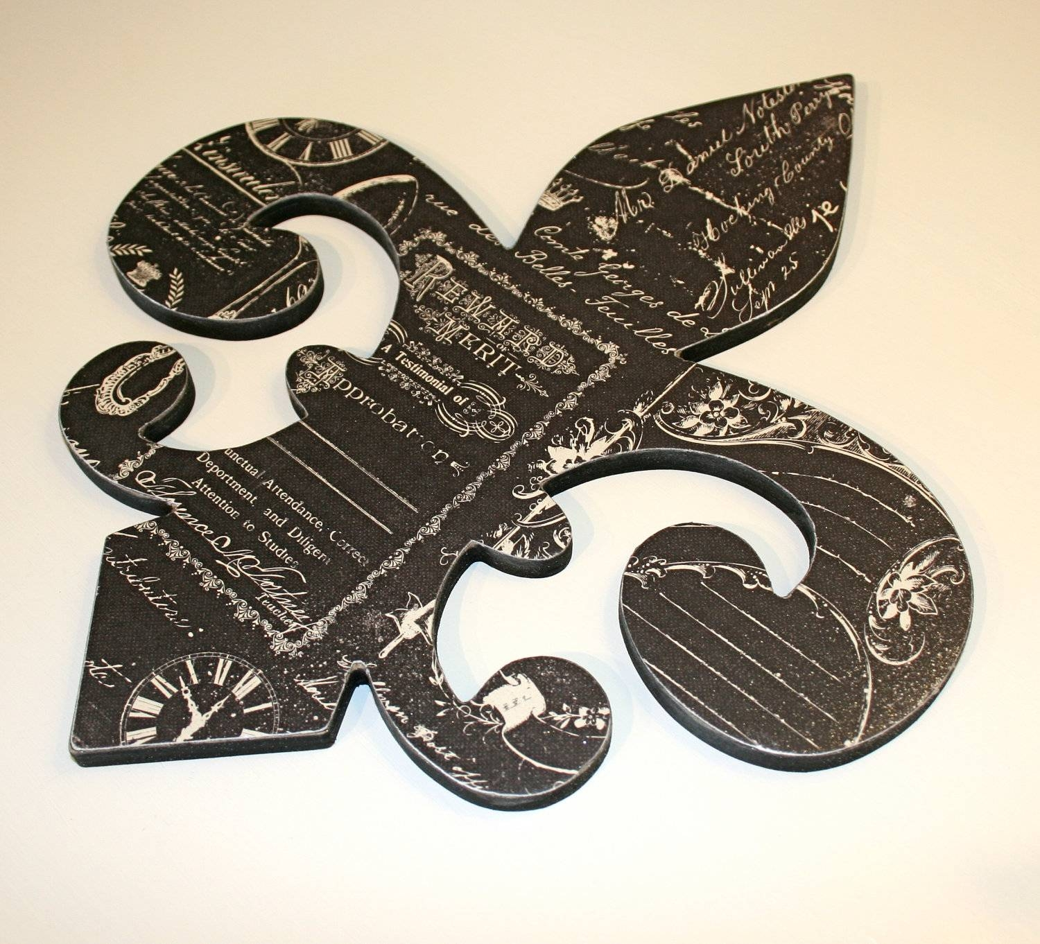 Fleur De Lis Wall Decor Mirror : Fleur De Lis Wall Decor – Design Regarding Most Popular Metal Fleur De Lis Wall Art (View 13 of 25)