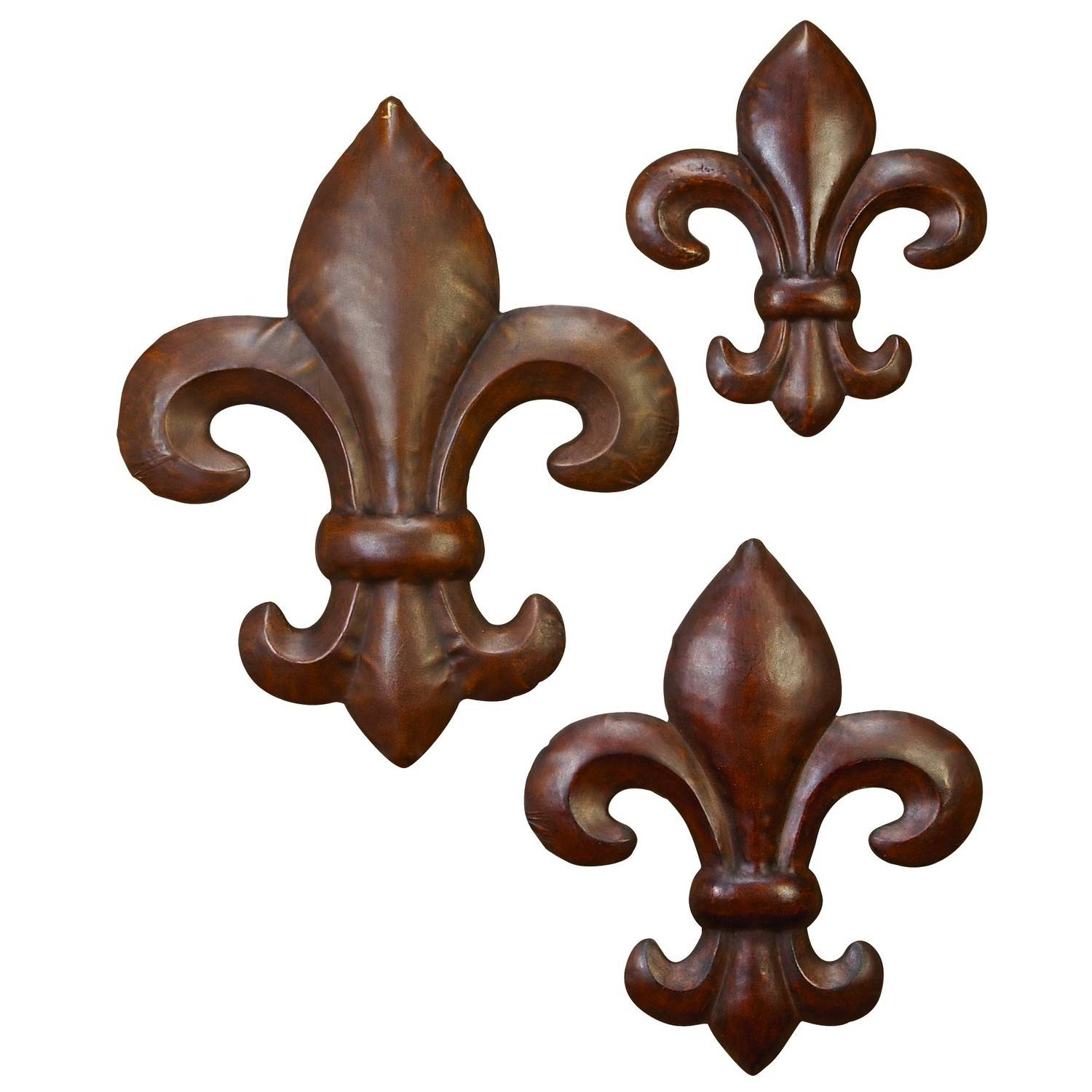 Fleur De Lis Wall Decor With Regard To 2018 Metal Fleur De Lis Wall Art (View 14 of 25)