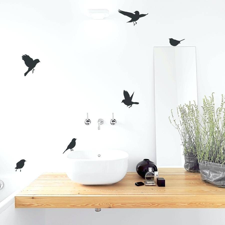 Flock Of Birds Wall Decal Nature Wall Art Decals Page 2 Nature Regarding Latest Flock Of Birds Wall Art (View 17 of 25)