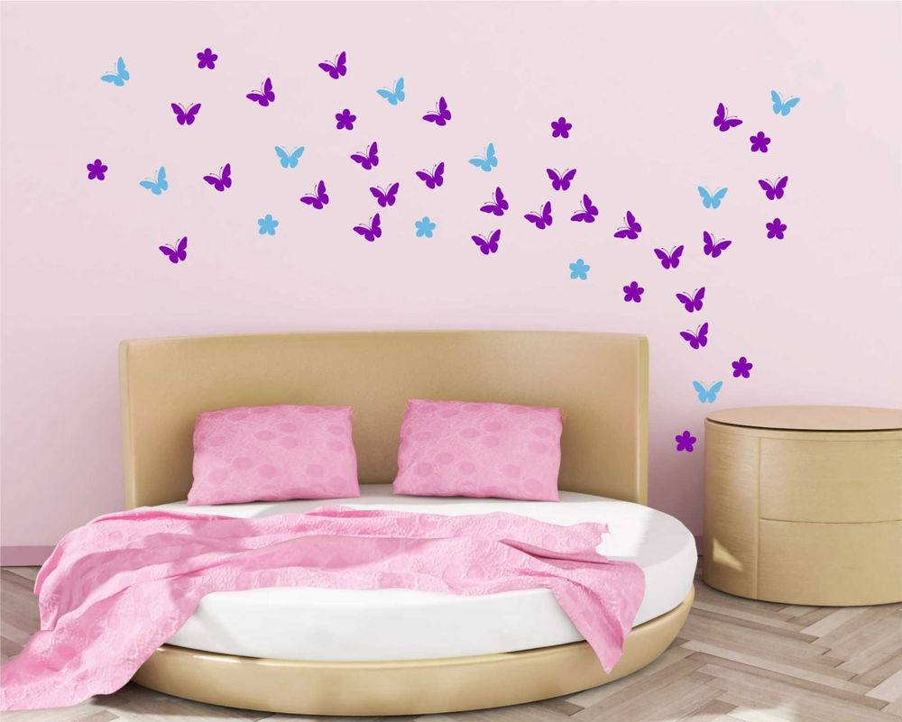 Flower Butterfly Wall Art | Wallartideas For Best And Newest Wetherill Park 3D Wall Art (View 8 of 20)