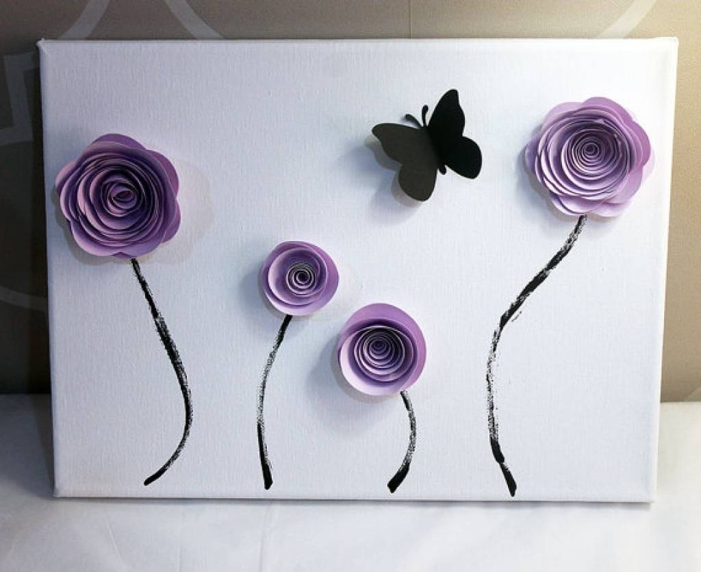 Flower Wall Art Decor 3D Wall Decor Emily Fields And Flower On In 2018 Flowers 3D Wall Art (View 13 of 20)