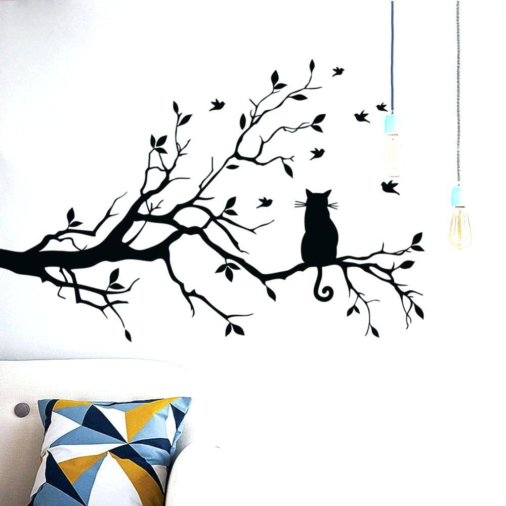 Flying Black Bird Wall Decals – Gutesleben For Most Recent Ceramic Bird Wall Art (View 26 of 30)