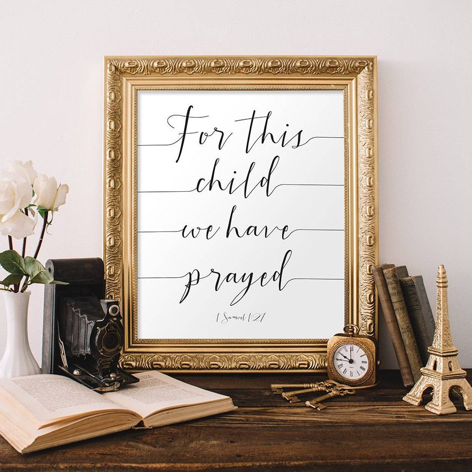 Featured Photo of Bible Verses Framed Art