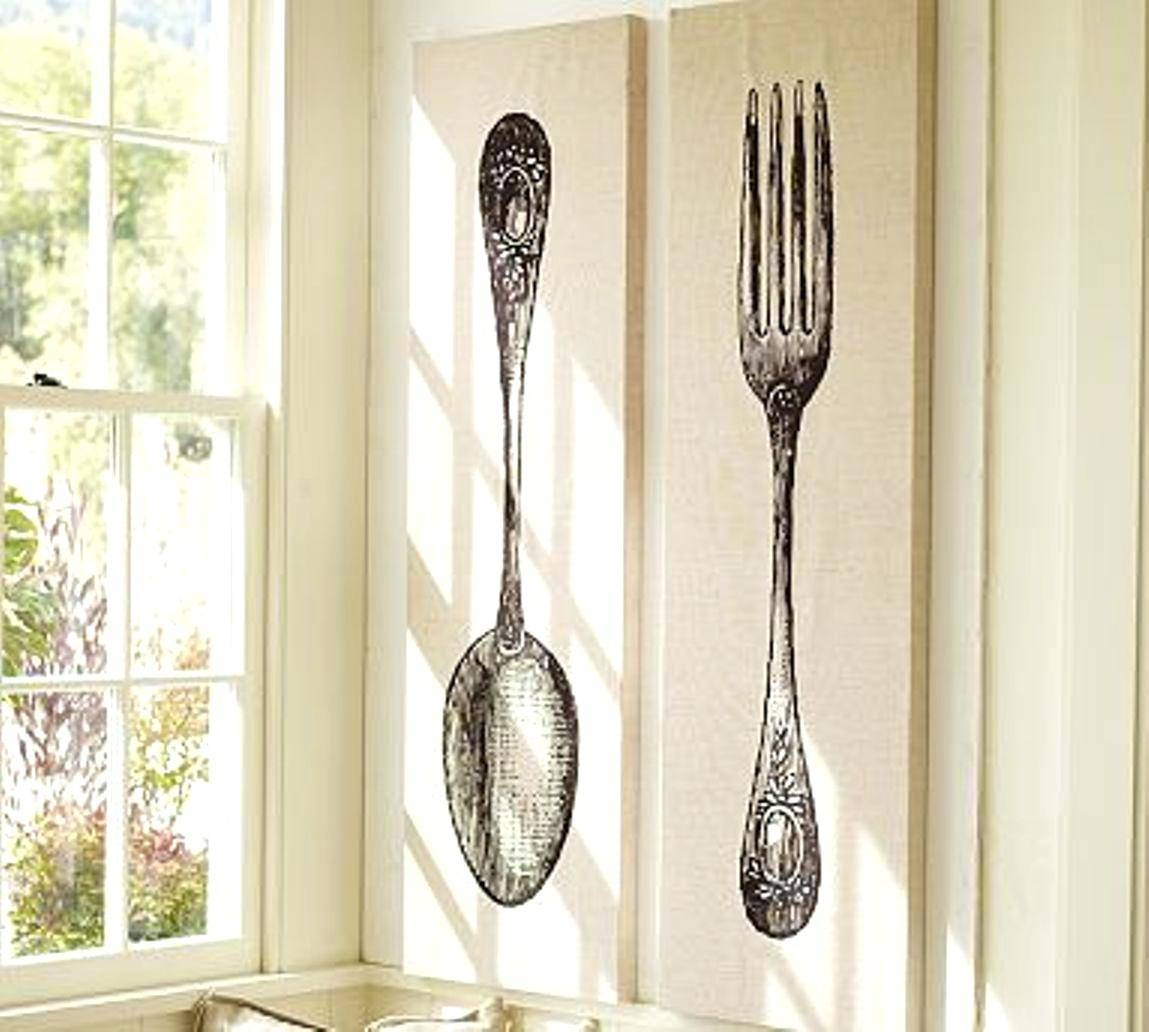 Fork Wall Decor Giant Spoon And Target – Ukrasheniya Within Most Recently Released Big Spoon And Fork Wall Decor (View 21 of 30)