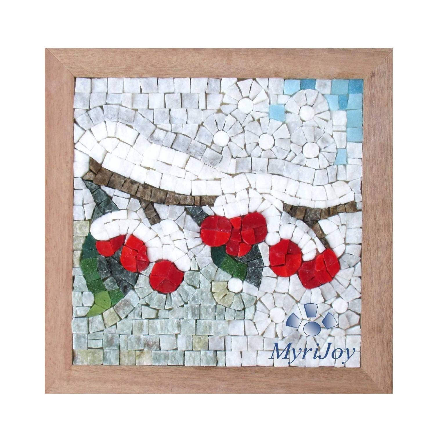 Four Seasons Winter Mosaic Craft Kit For Adults Diy Mosaics Pertaining To Most Recent Mosaic Art Kits For Adults (View 9 of 20)