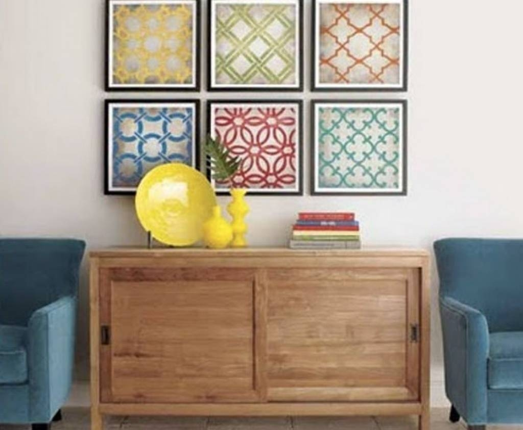 Frame Fabric Wall Art | Home Interior Decorating Ideas For Most Current Framed Fabric Wall Art (View 11 of 20)