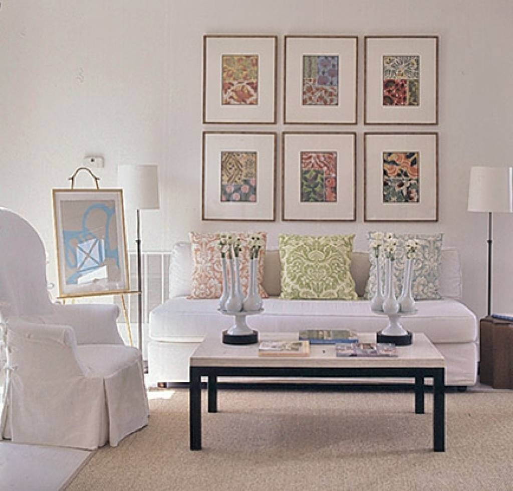 Frame Fabric Wall Art | Home Interior Decorating Ideas In Most Up To Date Wall Art Frames (View 14 of 20)