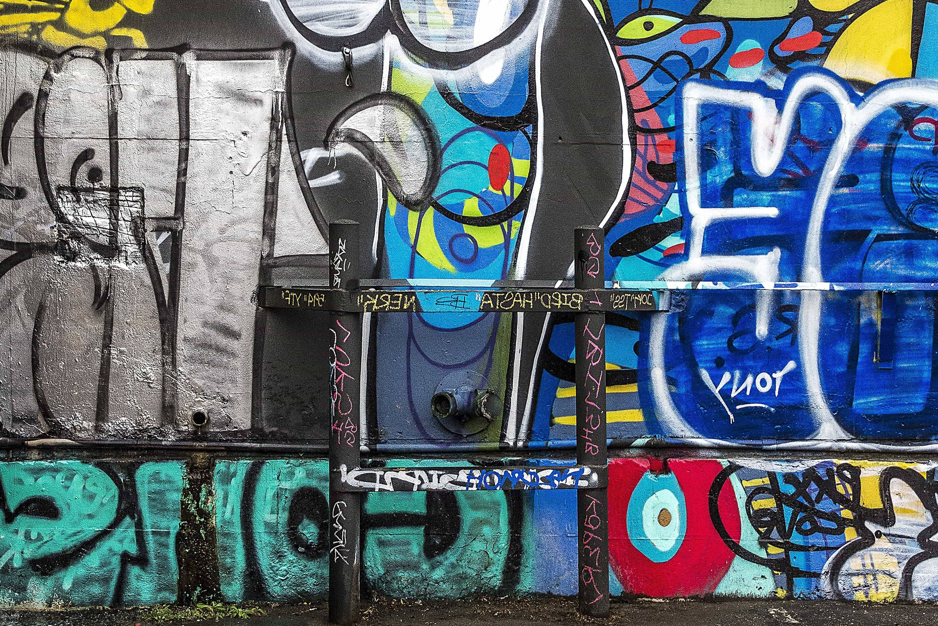 Free Picture: Graffiti, Urban, Vandalism, Airbrush, Wall, Mural Throughout Most Current Airbrush Wall Art (View 8 of 20)
