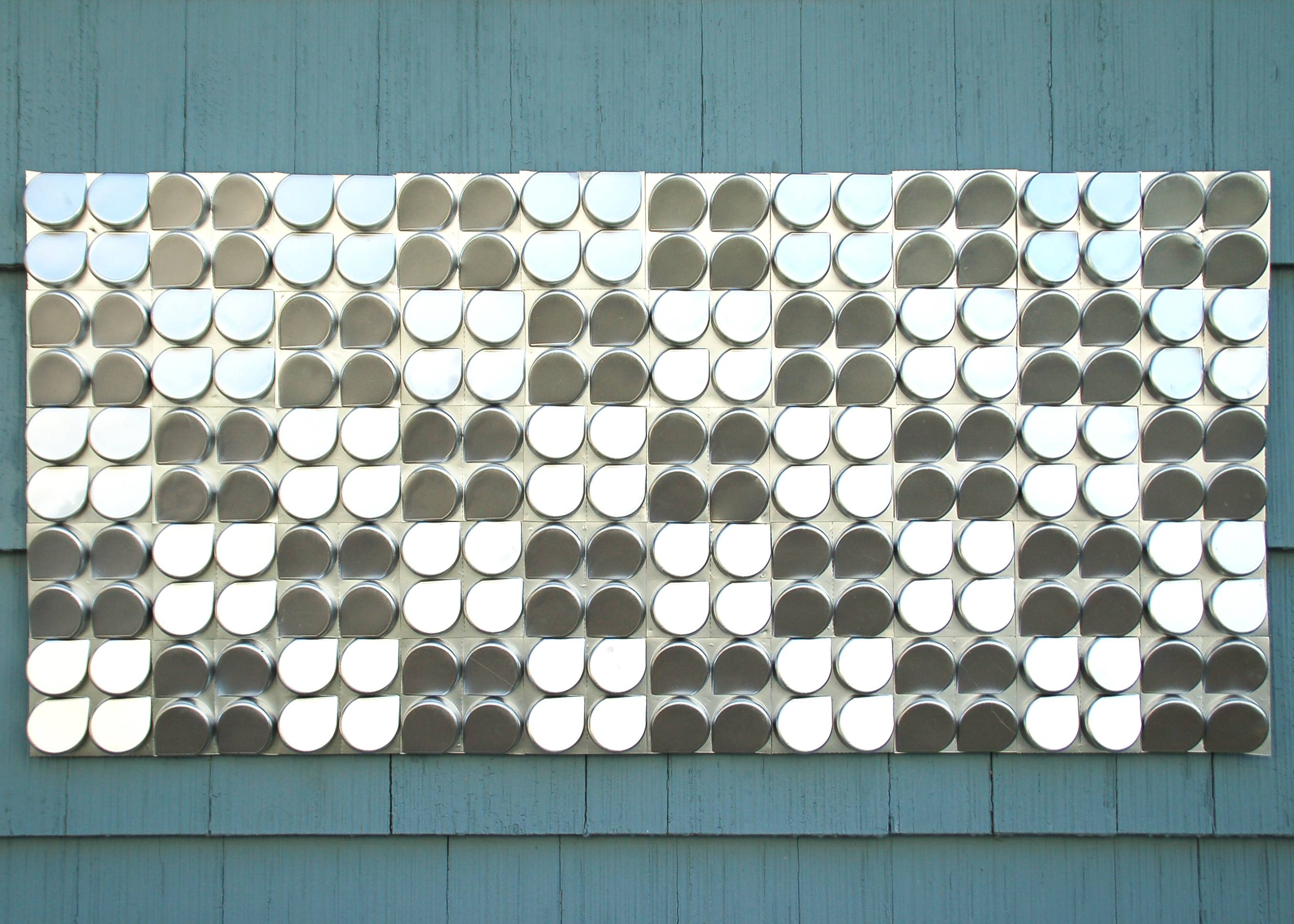 Freecycled Outdoor Wall Art | Ideas Realized Inside Current Recycled Wall Art (View 7 of 30)