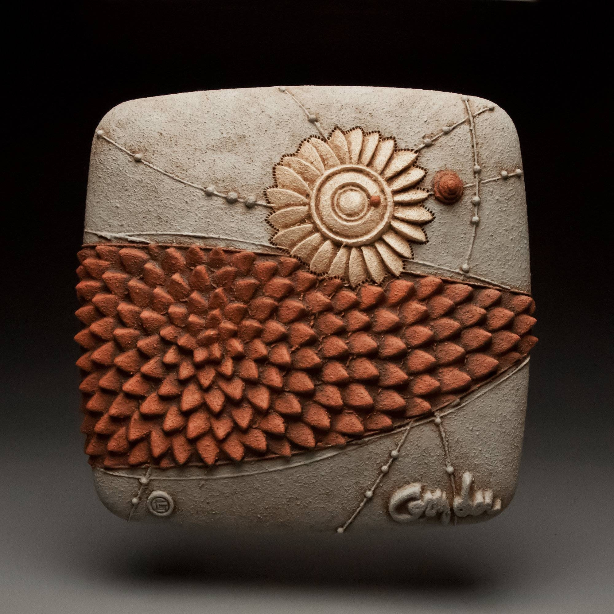 Fresh Movechristopher Gryder (ceramic Wall Sculpture) | Artful Within Recent Large Ceramic Wall Art (View 9 of 25)