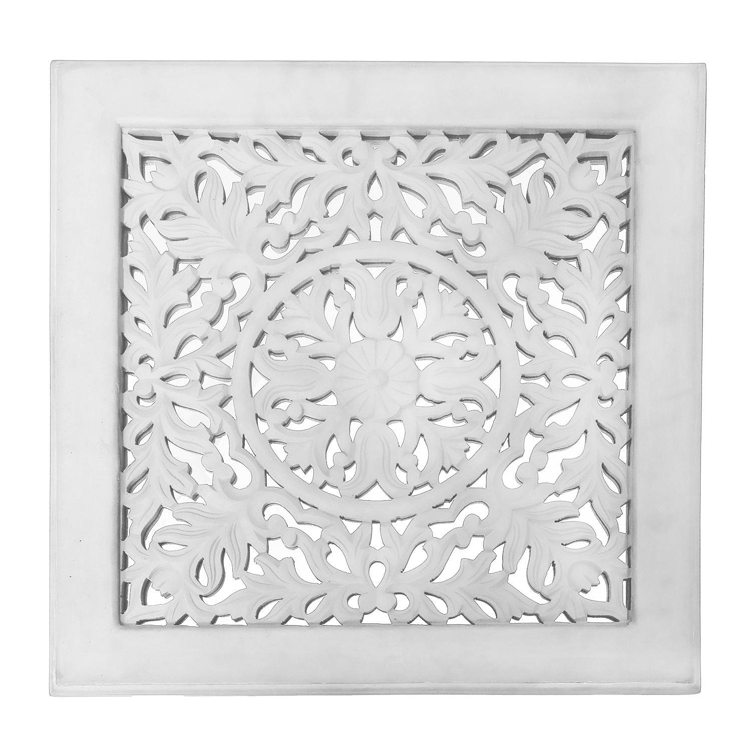 Fretwork Wall Art: White (set Of 3) | The Yellow Door Store In Most Popular Fretwork Wall Art (View 5 of 25)