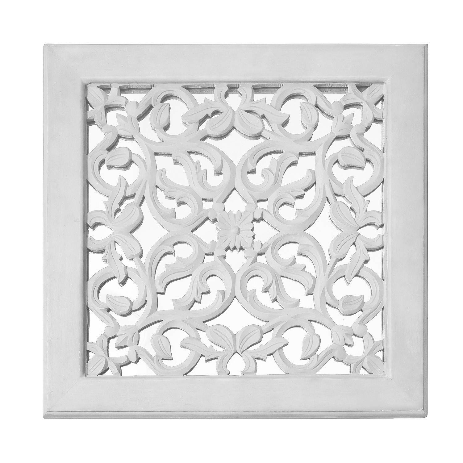 Fretwork Wall Art: White (set Of 3) | The Yellow Door Store Pertaining To Most Popular Fretwork Wall Art (View 9 of 25)