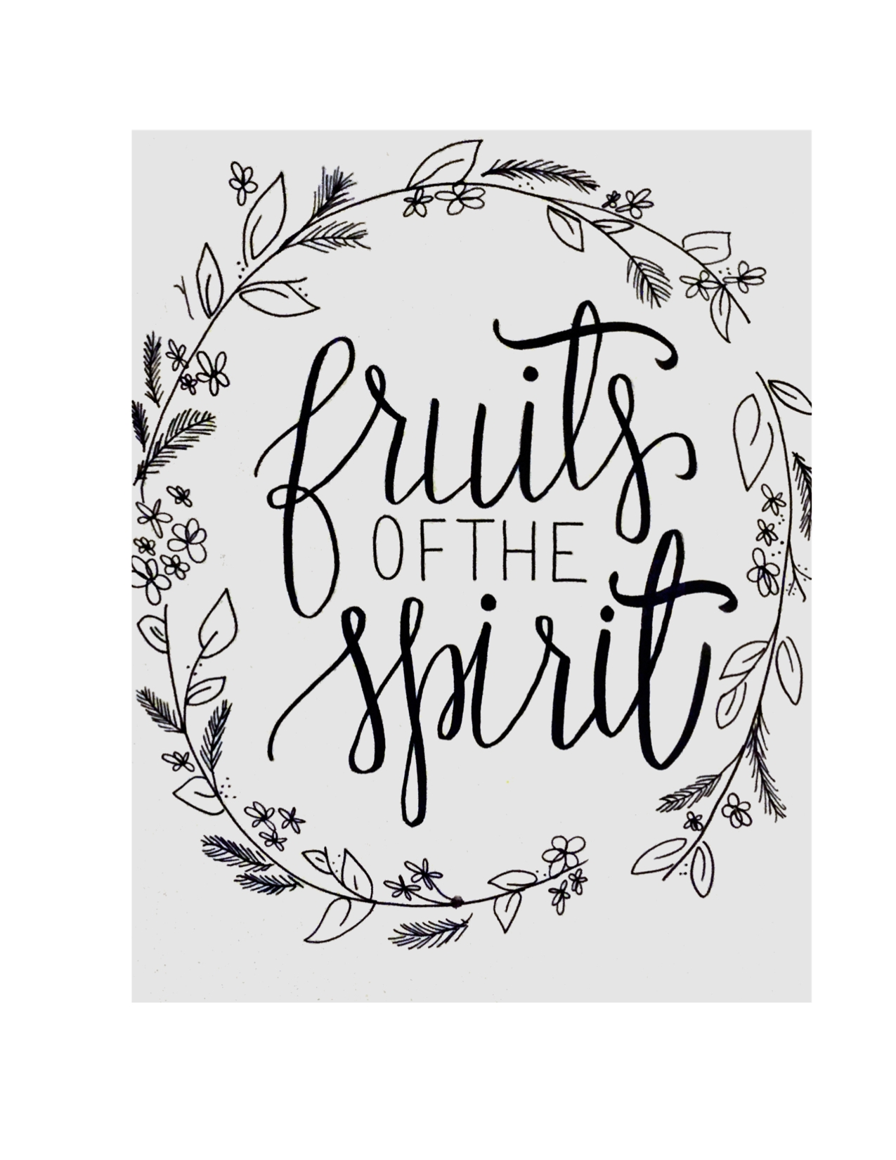 Fruit Of The Spirit Devo – Always, Meghan Xo Inside 2018 Fruit Of The Spirit Artwork (View 15 of 30)