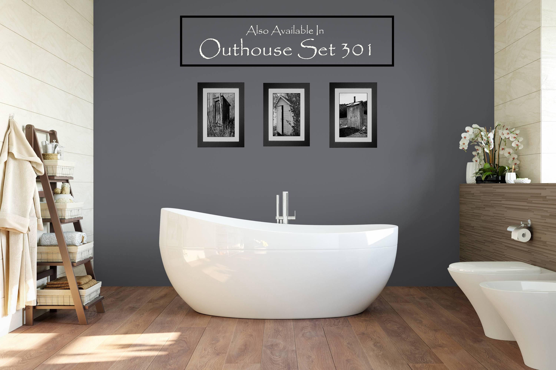 Funny Bathroom Print / Bathroom Wall Art / Powder Room Decor For Most Recent Farmhouse Wall Art (View 23 of 25)