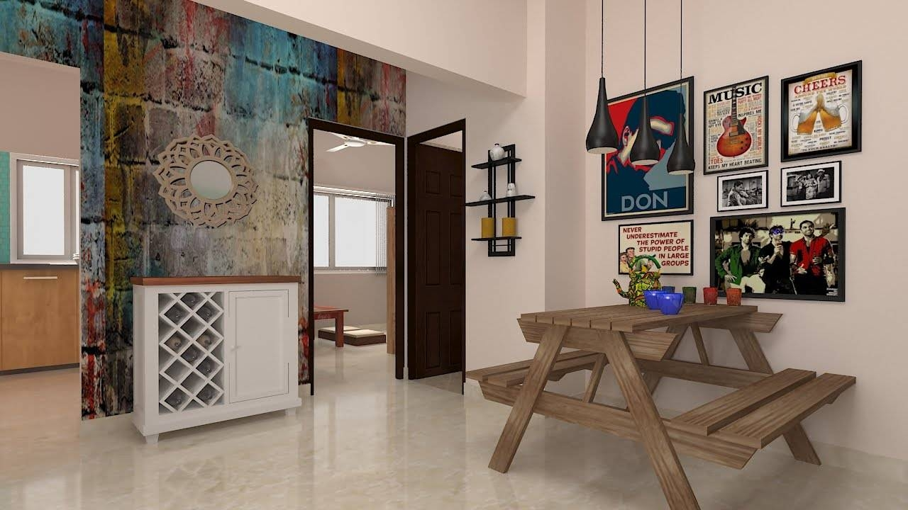 Furdo Home Interior Design Themes : Graffiti Art | 3d Walk Through For Most Up To Date Bangalore 3d Wall Art (View 12 of 20)