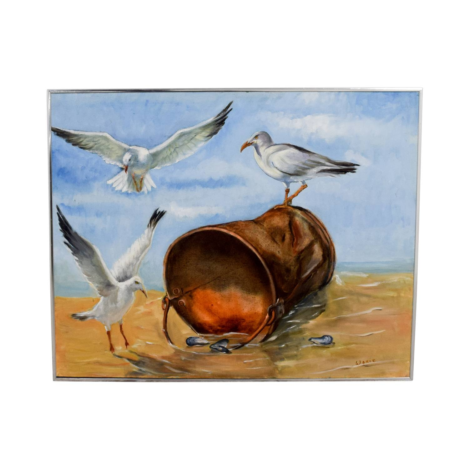Furniture : Awesome Blue And Yellow Wall Art Duck Egg Blue Wall With Most Popular Duck Egg Blue Wall Art (View 14 of 20)