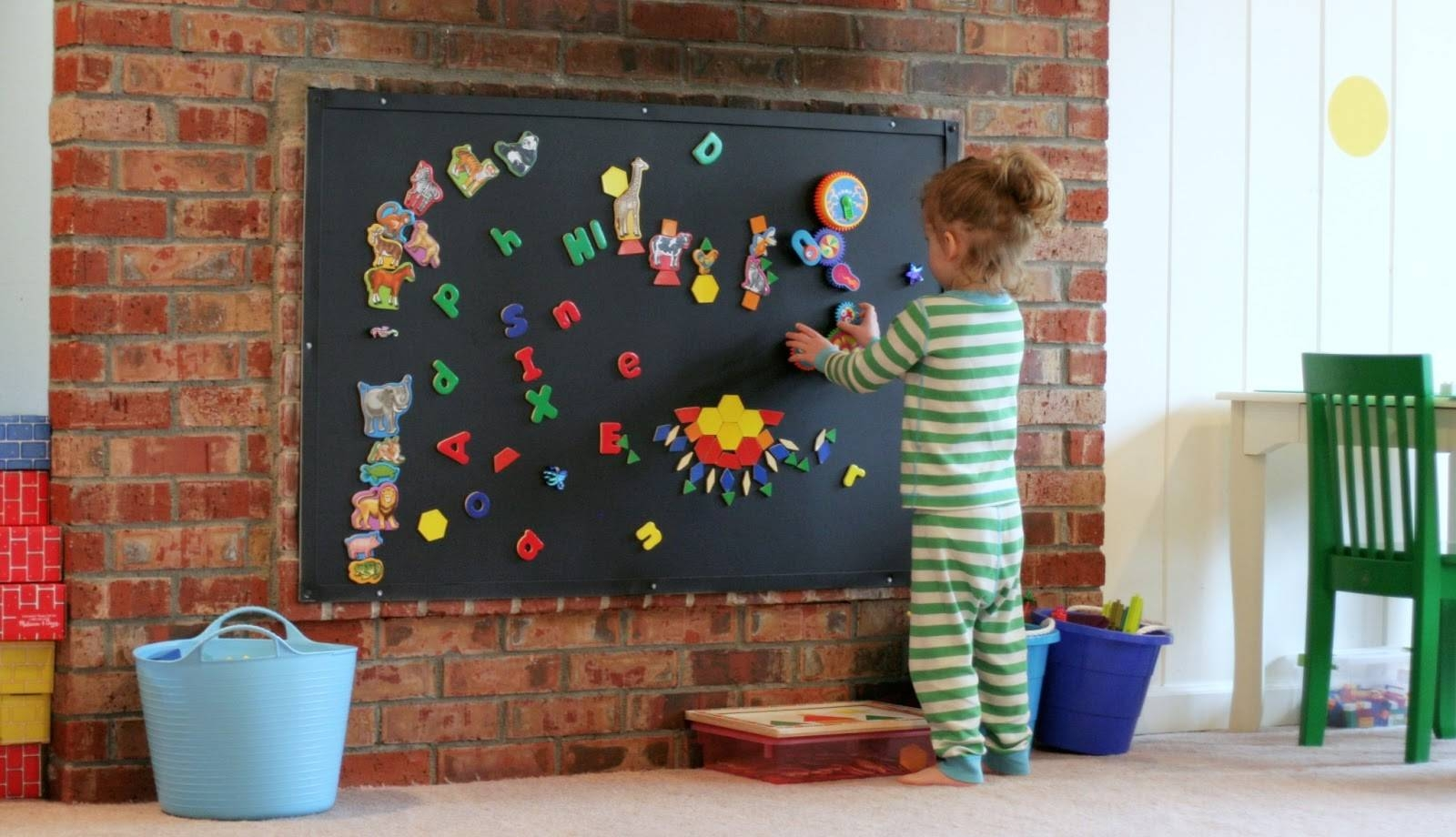Furniture: Beauteous Ideas For Ikea Kid Playroom Furniture Inside Most Recent Wall Art For Playroom (View 14 of 30)