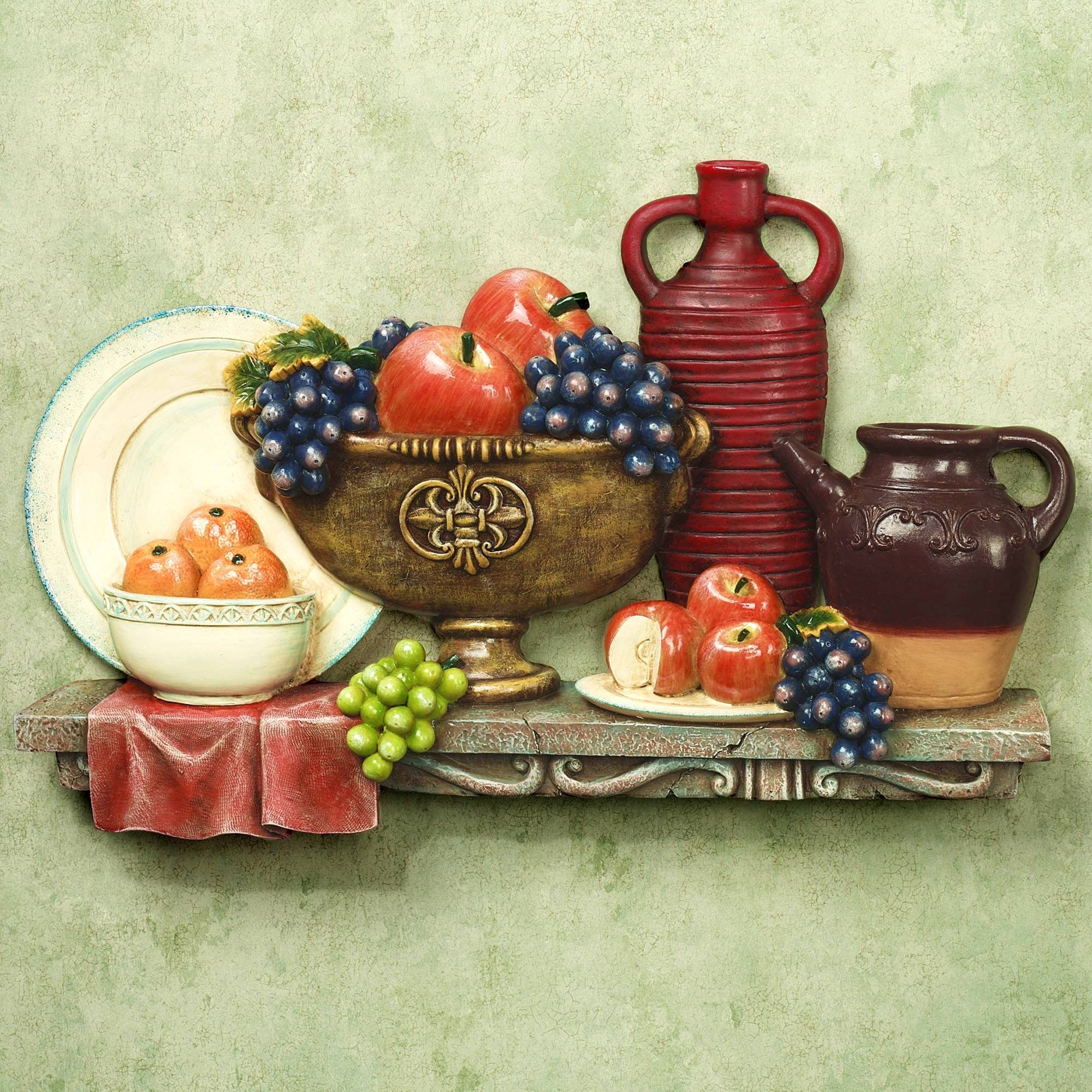 Furniture : Fascinating Fat Italian Chef Kitchen Wall Decor For Best And Newest Cucina Wall Art (View 28 of 30)