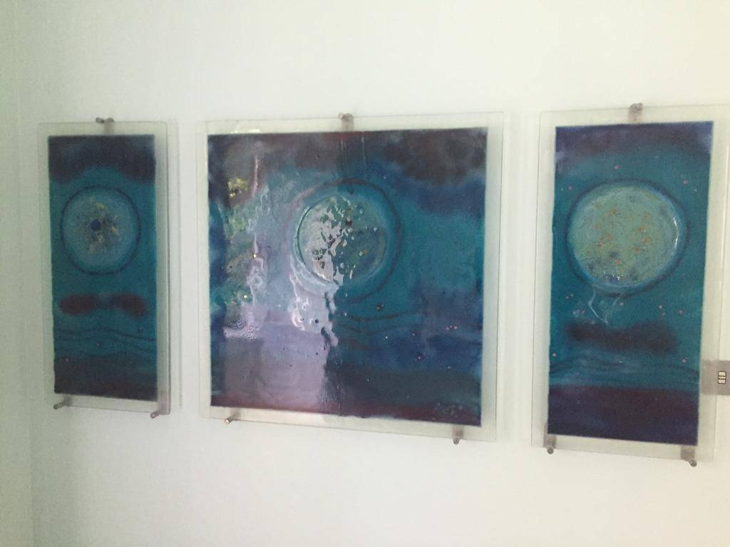 Fused Glass Wall Art | In East End, Glasgow | Gumtree Within Recent Fused Glass Wall Art (View 12 of 25)
