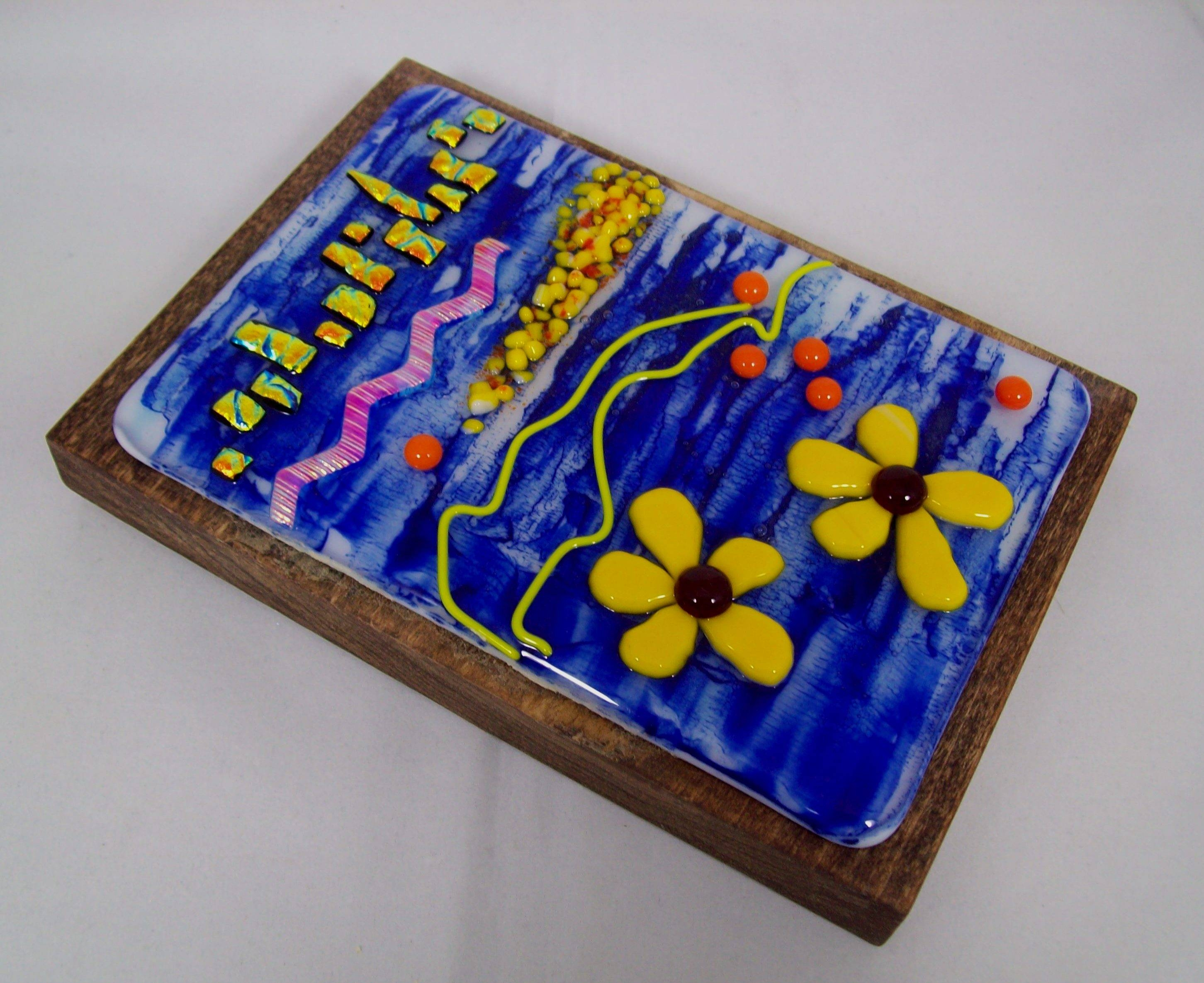 Fused Glass Wall Art – #ws140 Regarding Most Popular Fused Glass Wall Art (View 14 of 25)