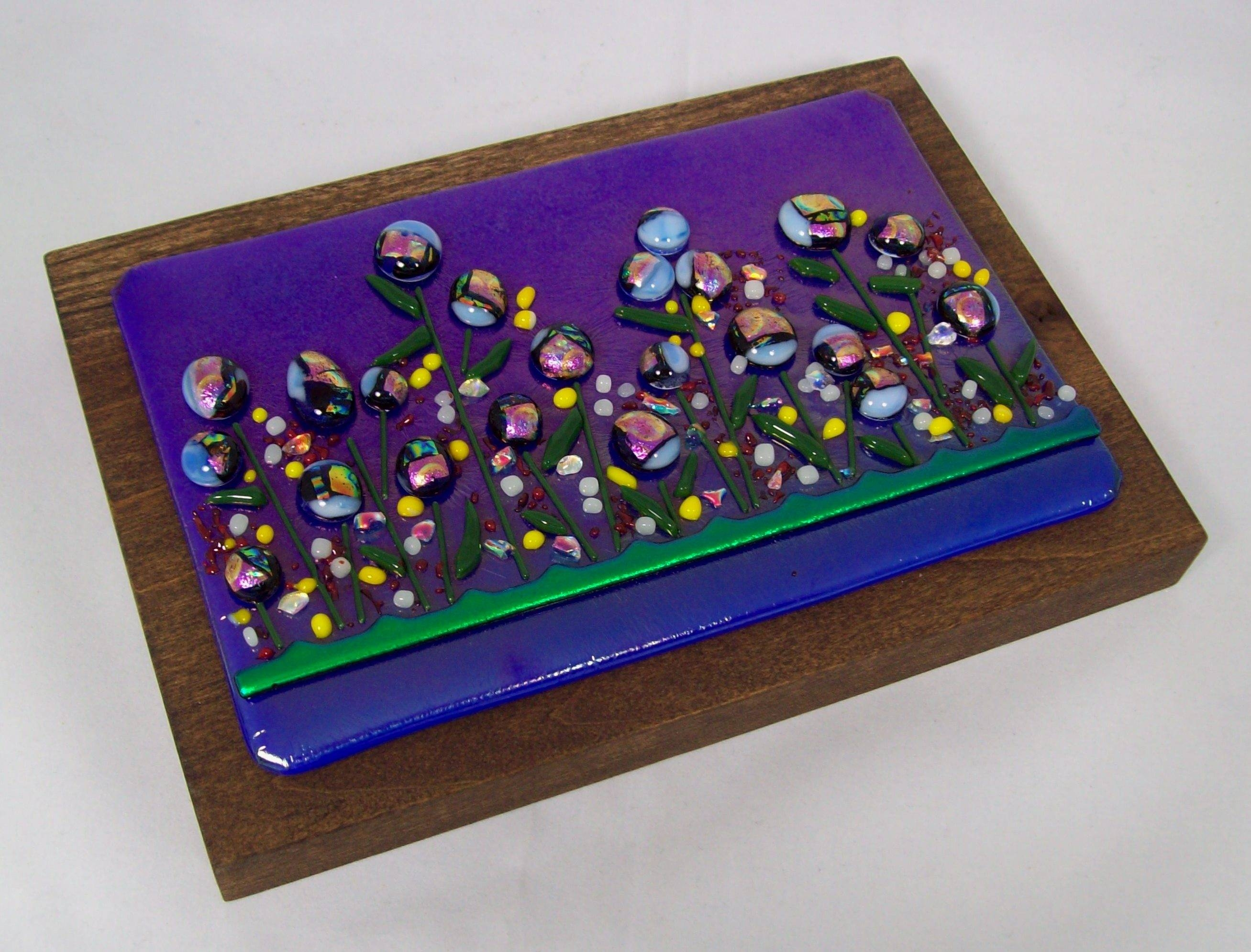 Fused Glass Wall Art – #ws148 In Current Fused Glass Wall Art (View 15 of 25)