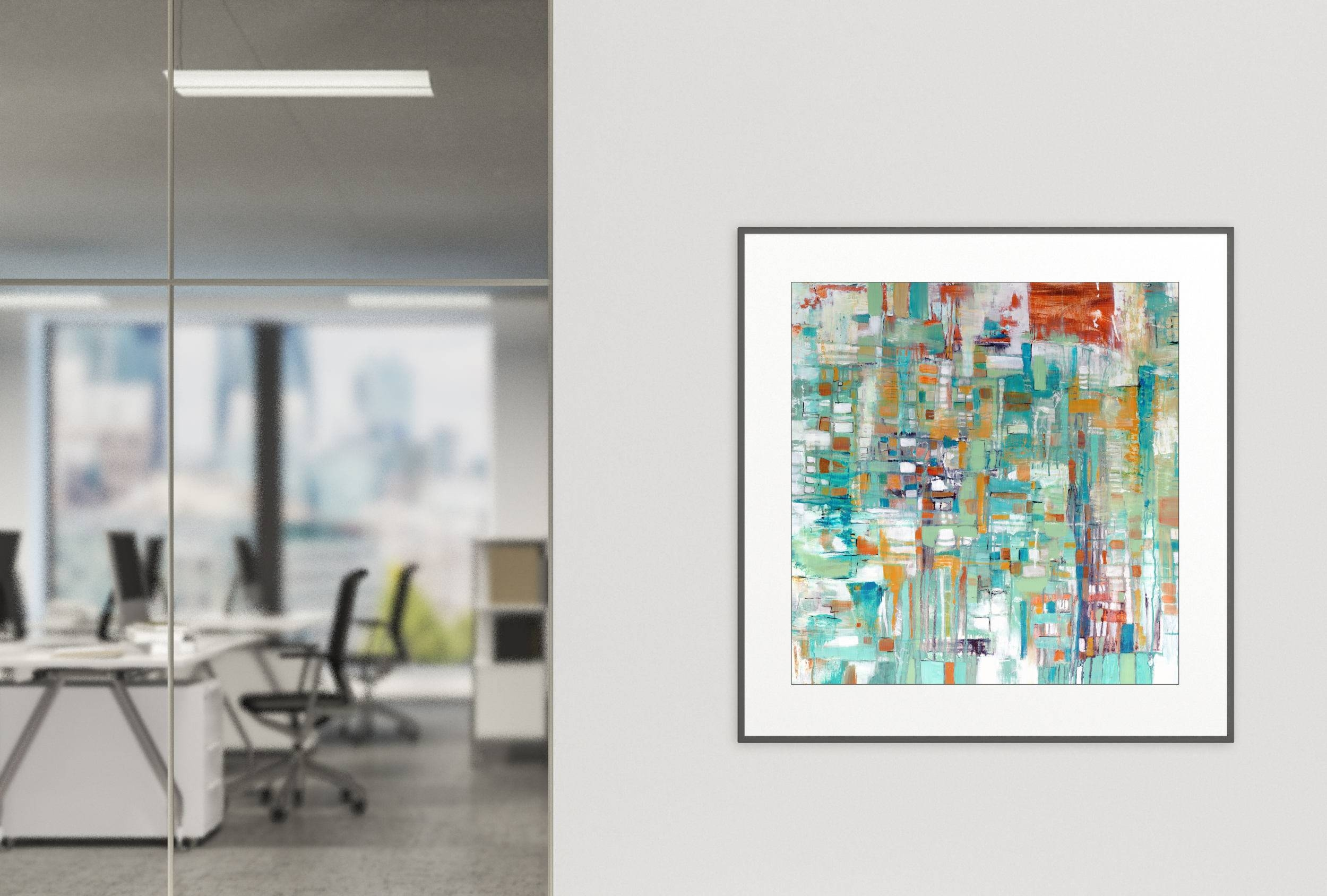 Gallery Art Print, Commercial Abstract Art Print, Hotel Wall Art Inside Most Recently Released Commercial Wall Art (View 10 of 20)