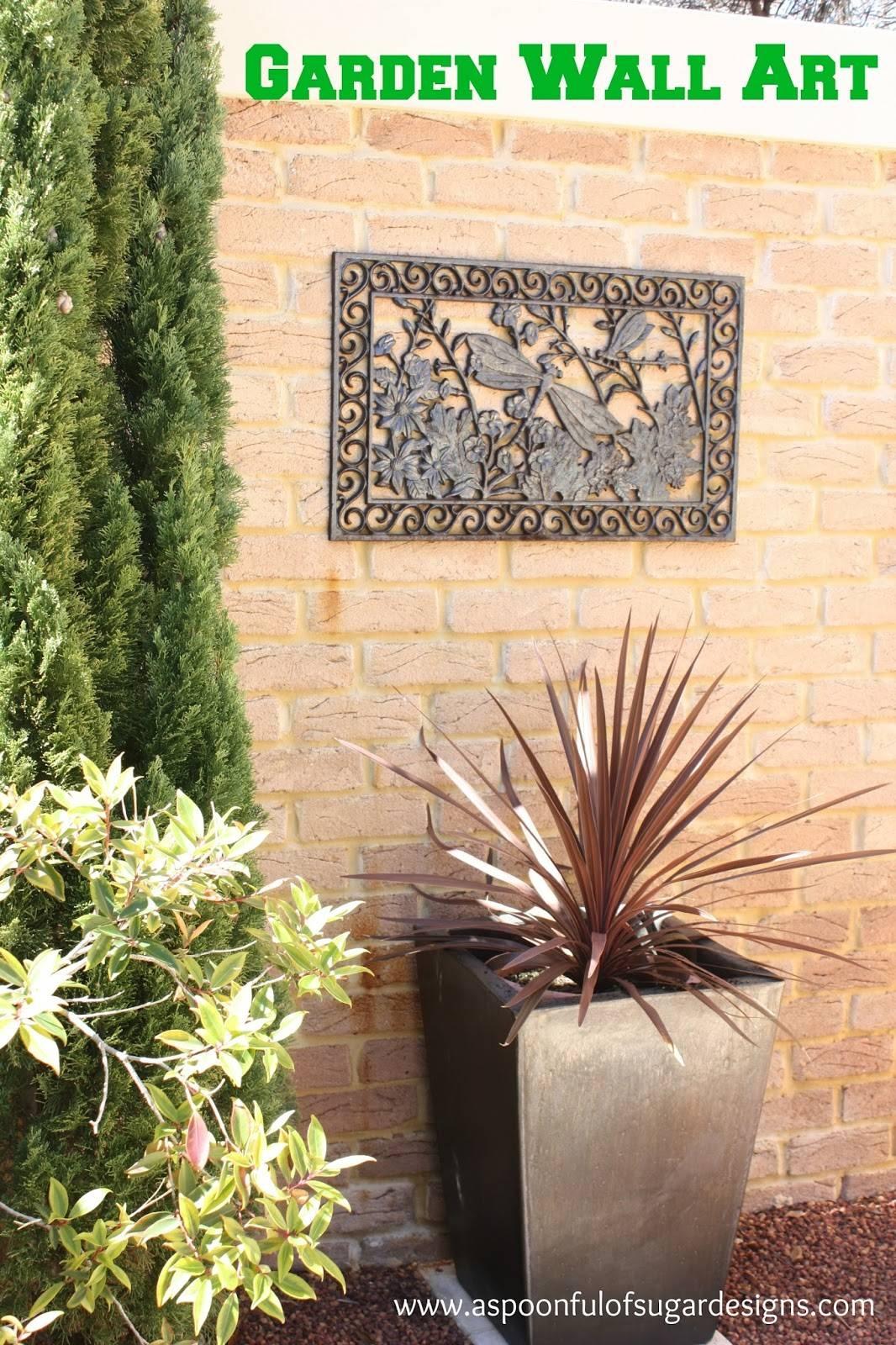 Garden Wall Art – A Spoonful Of Sugar Regarding Most Current Garden Wall Art (View 16 of 30)