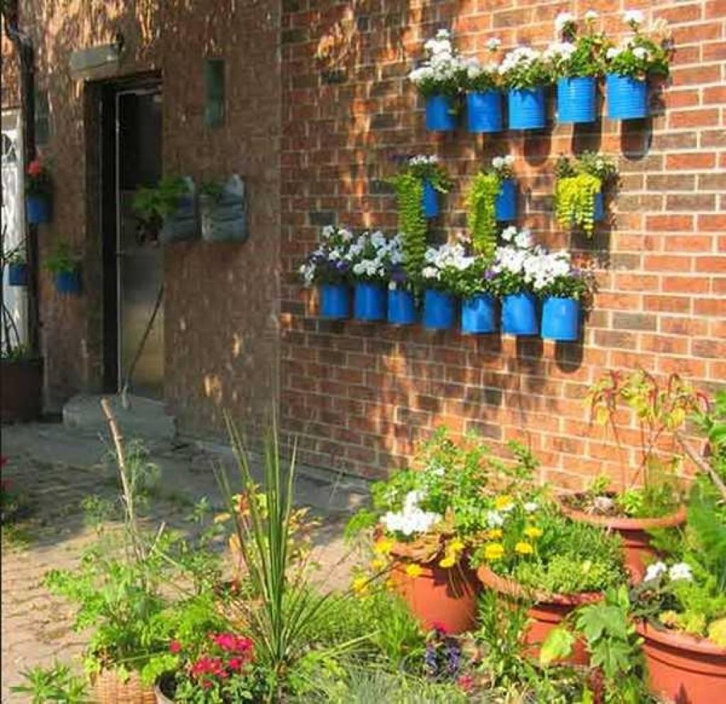 Garden Wall Decoration Ideas 25 Incredible Diy Garden Fence Wall In Most Recent Diy Garden Wall Art (Gallery 23 of 25)
