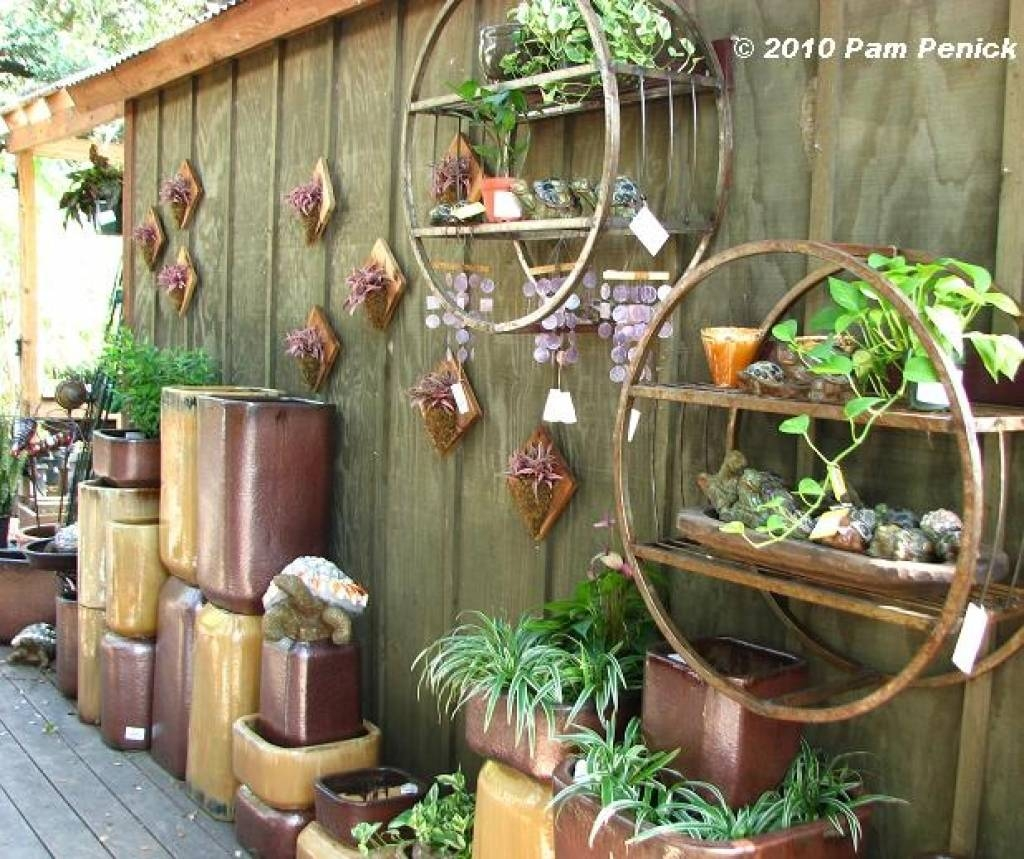 Attrayant Garden Wall Decoration Ideas 25 Incredible Diy Garden Fence Wall Intended  For Best And Newest Diy