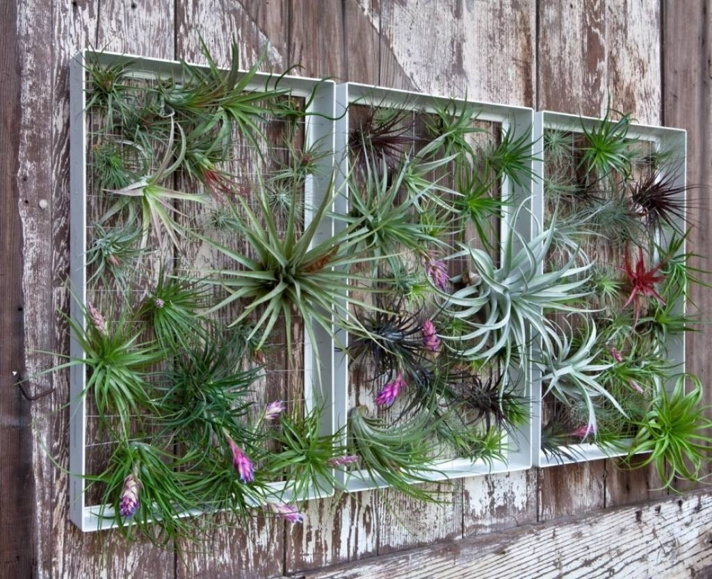 Garden Wall Decoration Ideas 25 Incredible Diy Garden Fence Wall With Newest Diy Garden Wall Art (Gallery 17 of 25)