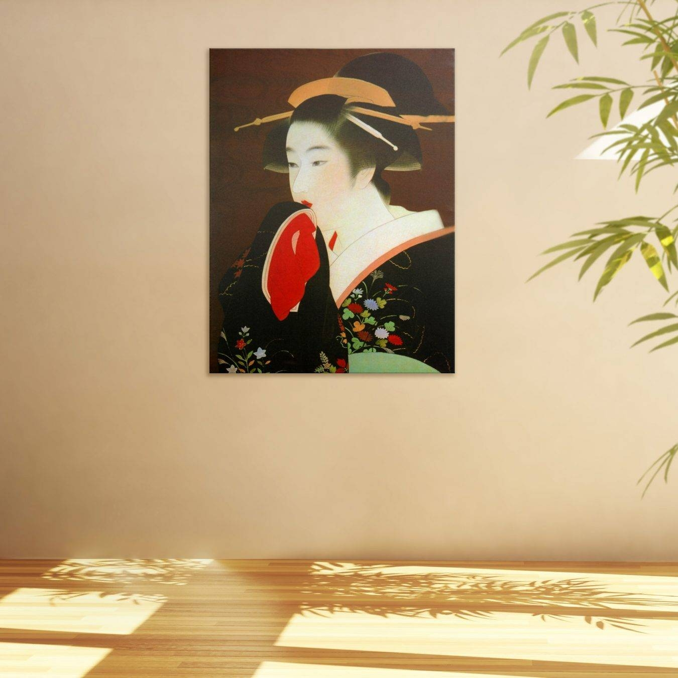 Geisha Wall – Todosobreelamor In Most Recently Released Geisha Canvas Wall Art (View 12 of 20)