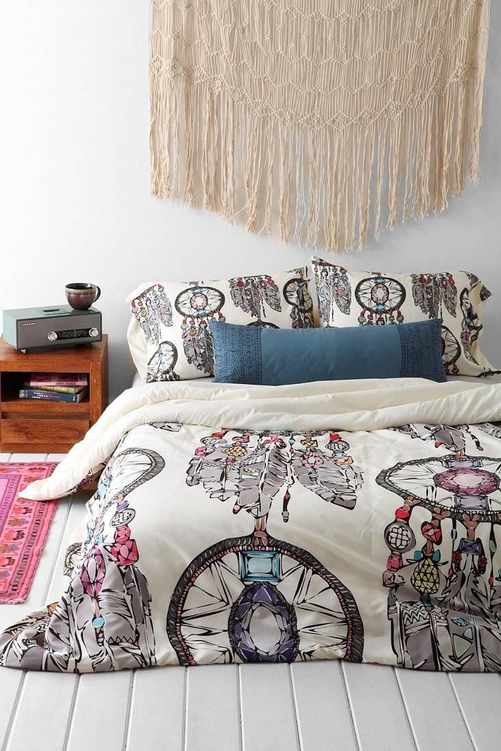 Gemstone Dreamcatcher Fabric – Scrummy – Spoonflower With 2017 Gemstone Wall Art (View 14 of 31)